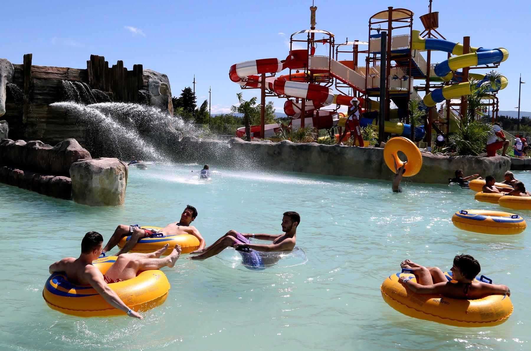 Ouverture de Splashworld Provence le premier parc aquatique de France à Monteux