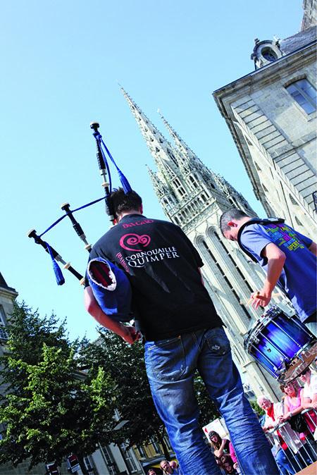 Quimper le 22 Juillet 2011 festival de cornouaille