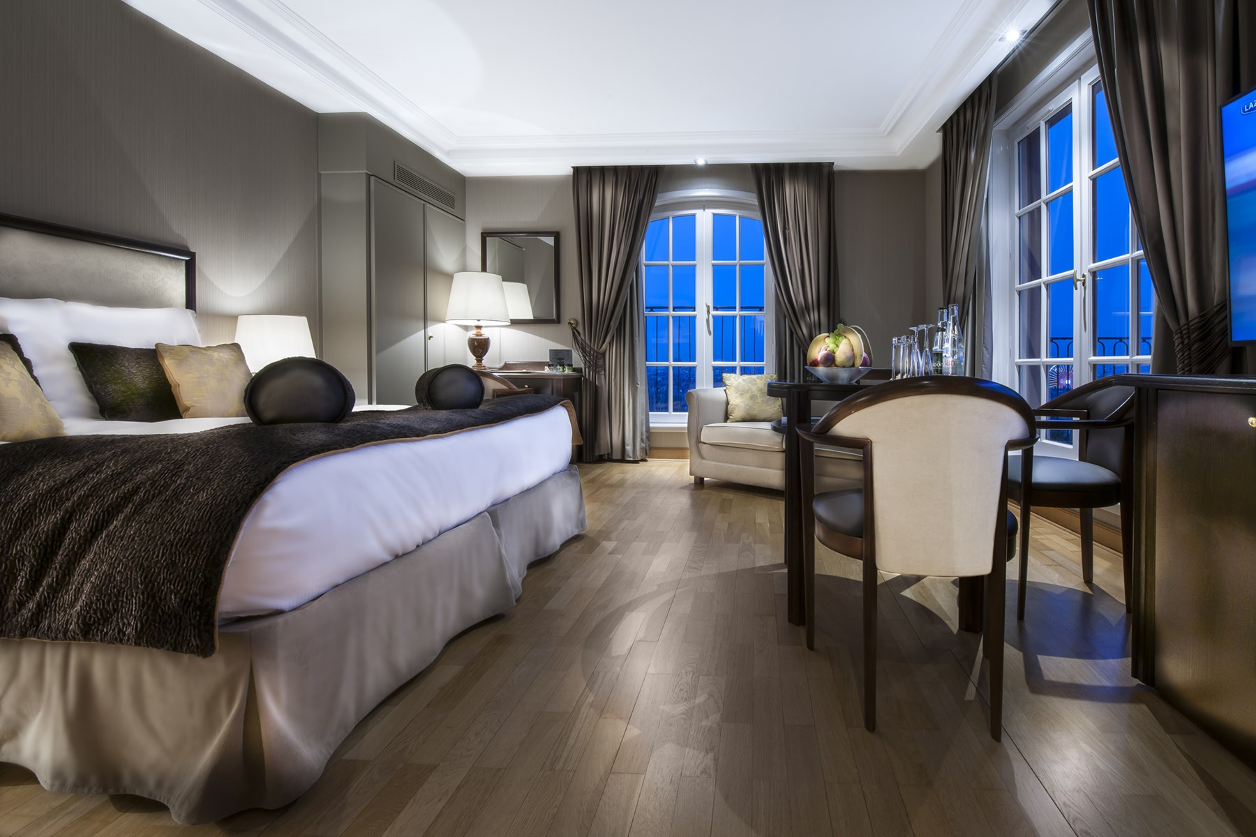 hôtel de luxe romantique