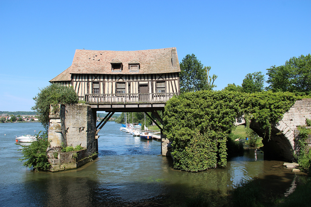 Moulin, Vernon © Eure Tourisme, M. Aubry