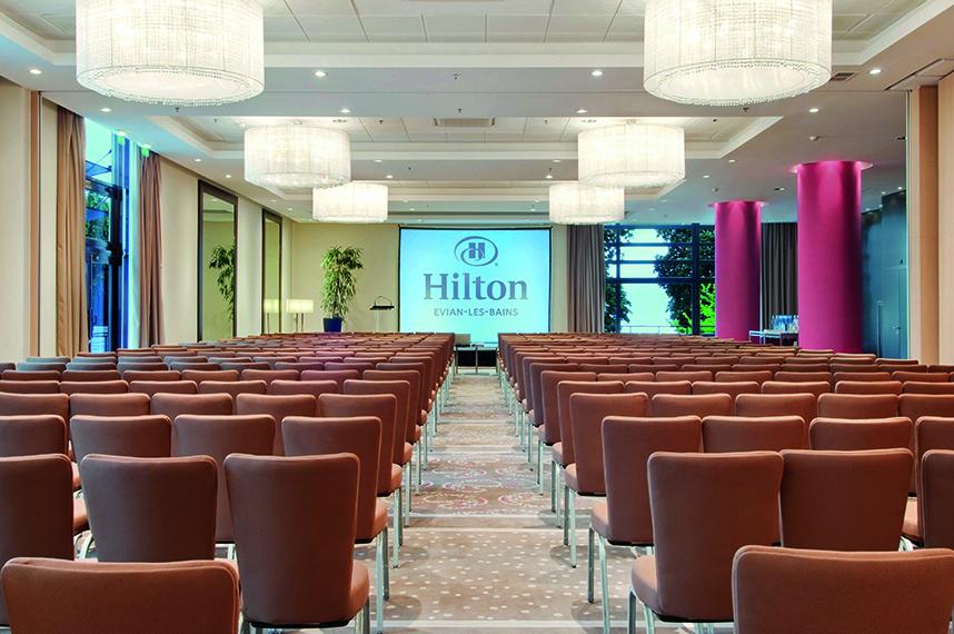 organiser un séminaire en rhone alpes- séminaire Evian- séminaire Hiltin- séminaire magazine Businessevent- séminaire et bien être-2